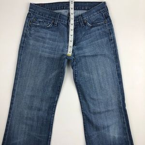 7 for all Mankind Jeans - 7 for all mankind dojo flare jean 27x29.5